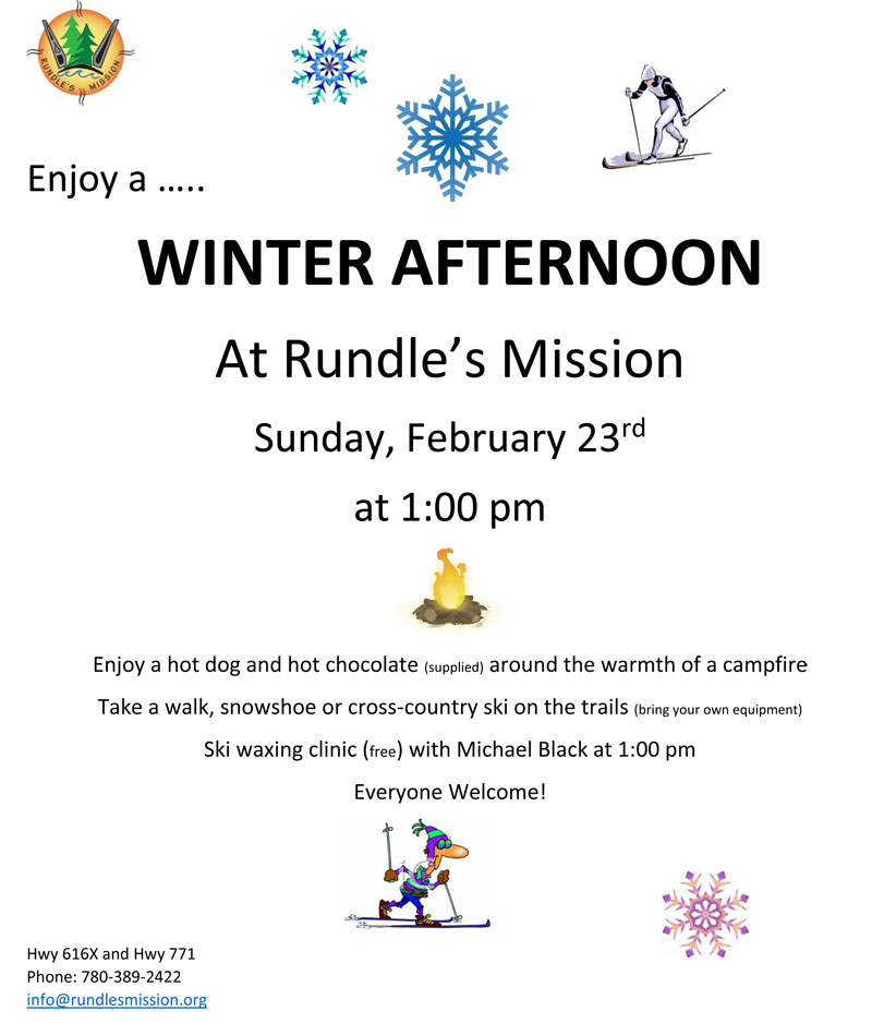 Winter Afternoon at Rundle's Misson